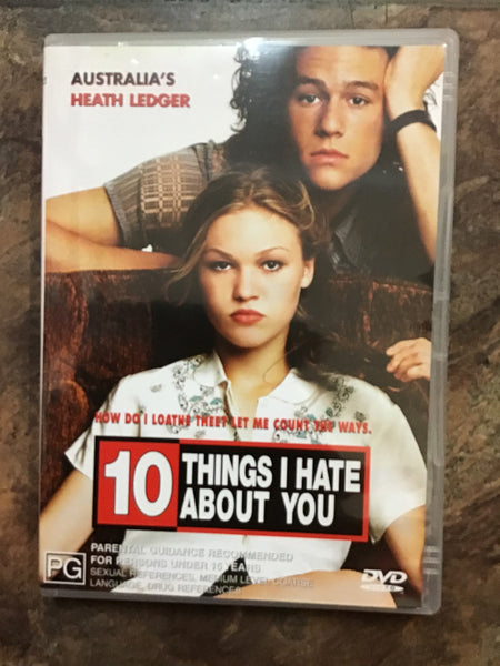 DVD - 10 Things I Hate About You - M - DVDRO DVDCO  – GOL