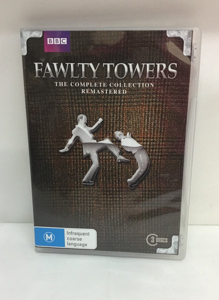 DVD TV Series - Fawlty Towers: Complete Series - M - DVDBX5071 FXAD - GOL