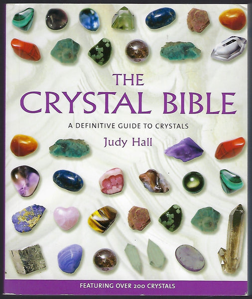 The Crystal Bible - Judy Hall - BHUM15135 - BOO