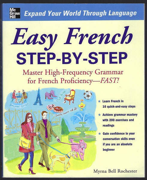 Easy French Step-by-Step - Myrna Bell Rochester - BREF15282 - BOO