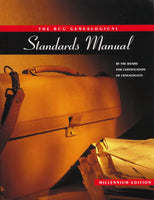 The BCG Genealogical Standards Manual - The Board for Certification of Genealogists - BREF15164 - BHIS - BOO