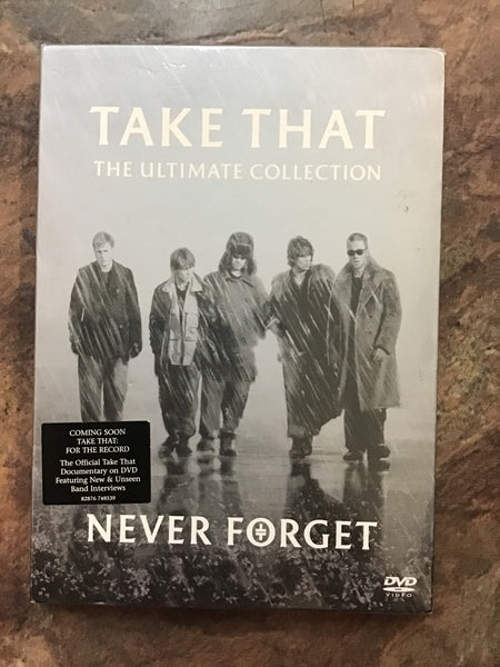 DVD - Take That: Never Forget - DVDMU - GOL