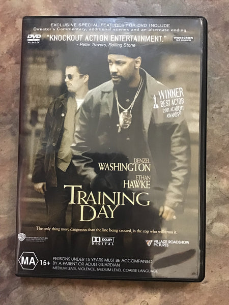 DVD - Training Day - MA15+ - DVDAC DVDTH - GOL