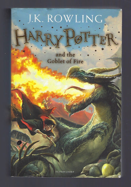 Harry Potter and the Goblet of Fire - J.K. Rowling - BCHI15230 - BOO