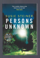 Persons Unknown - Susie Steiner - BPAP15082 - BOO