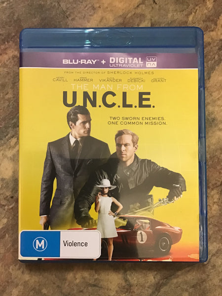 Blu-Ray - The Man From UNCLE - M - DVDAC - GOL