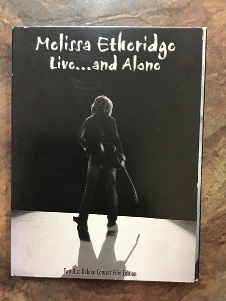 DVD - Melissa Etheridge: Live & Alone - DVDMU - GOL