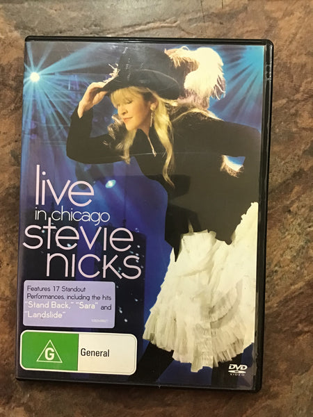 DVD - Stevie Nicks: Live in Chicago - DVDMU - GOL