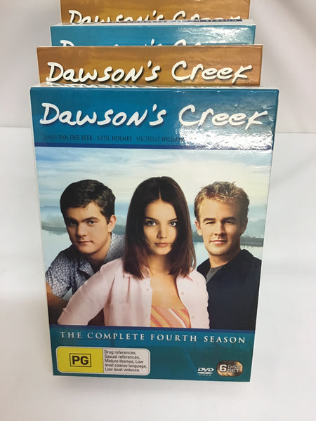 DVD TV Series - Dawson's Creek: Complete Series Seasons 1-6 - MA15+ - DVDBX - GOL