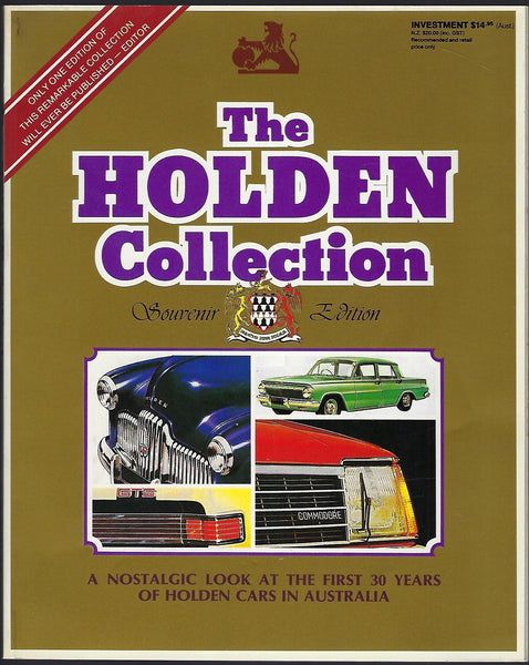The Holden Collection: A Nostalgic Look at the First 30 Years of Holden Cars in Australia - BRAR15341 - BAUT - BOO