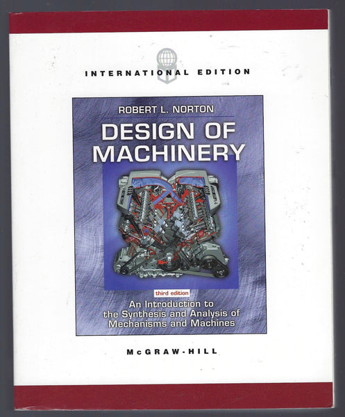 Design of Machinery (3rd edition) - Robert L. Norton - BREF15059 - BTEX - BOO
