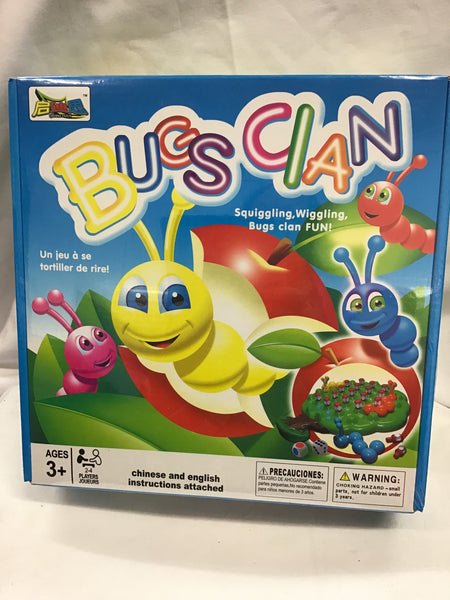 Games/Puzzles & Toys - Bugs Clan - GME274 - GEE