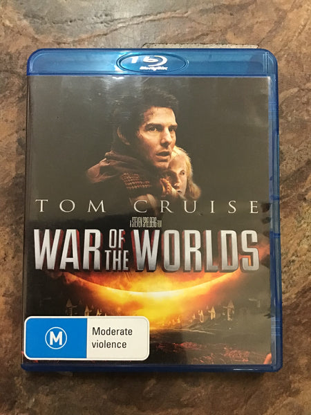 Blu-Ray - War of the Worlds - New - M - DVDSF - GOL