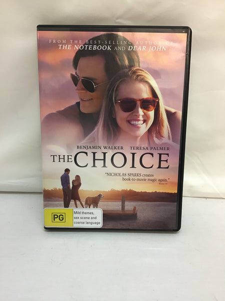 DVD - The Choice - New - PG - DVDRO DVDDR – GOL