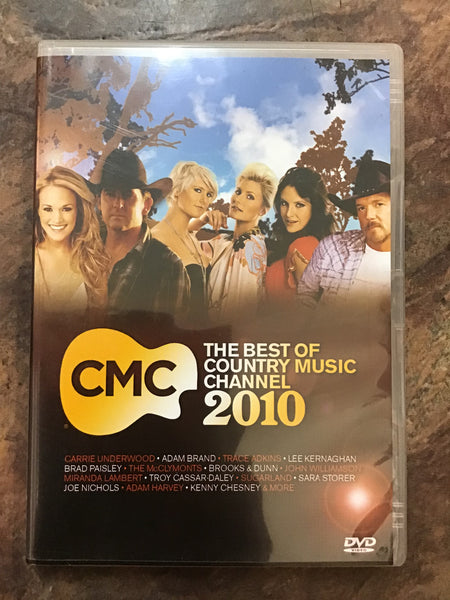 DVD - CMC - Best of Country Music 2010 - DVDMU - GOL