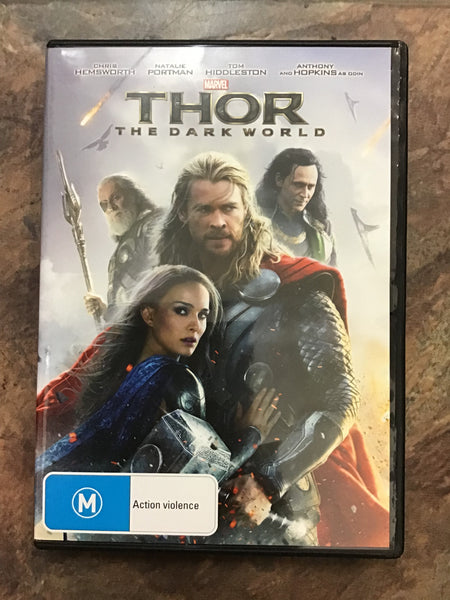 DVD - Thor: The Dark World - M - DVDAC DVDSF - GOL