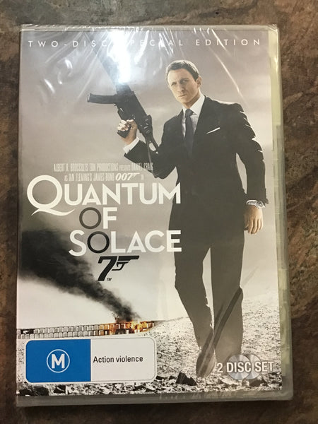 DVD - Quantum of Solice - New - M - DVDAC - GOL