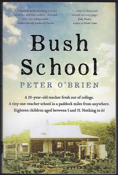 Bush School - Peter O'Brien - BBIO15288 - BAUT - BOO