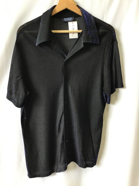 Vintage Mens Top - Closed- Size S - VTOP505 - GEE