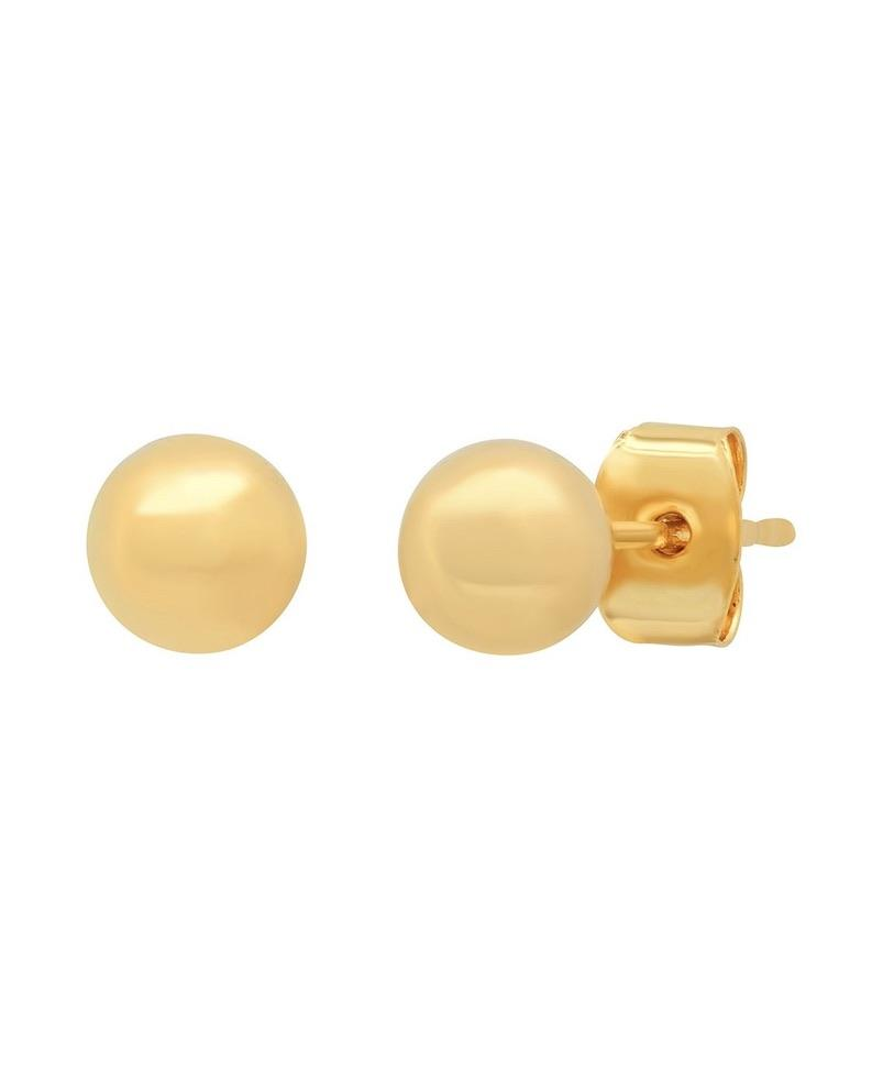 Gold Ball Studs / Set