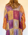 Curry Patchwork Coat
