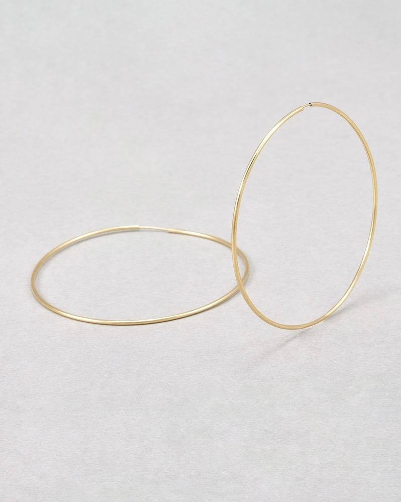 Seraphina Hoops / Yellow Gold