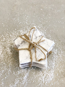 Marble Star Coasters