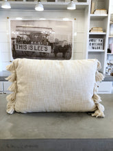 Load image into Gallery viewer, Cream Lumbar Pillow