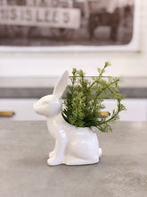 Load image into Gallery viewer, Garden Bunny Planter