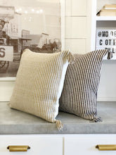 Load image into Gallery viewer, Striped Cotton Euro Pillow