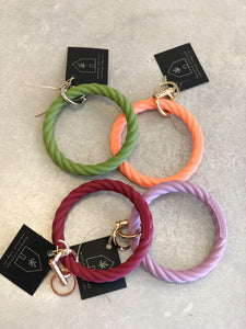 Bangle & Babe Twisted Rope Keyring