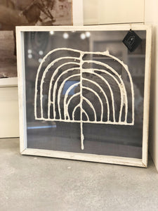 Framed Paper Wall Art