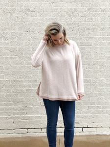 Blush Brushed Knit