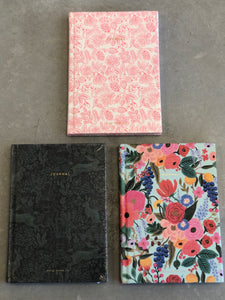 Rifle Paper Fabric Journals