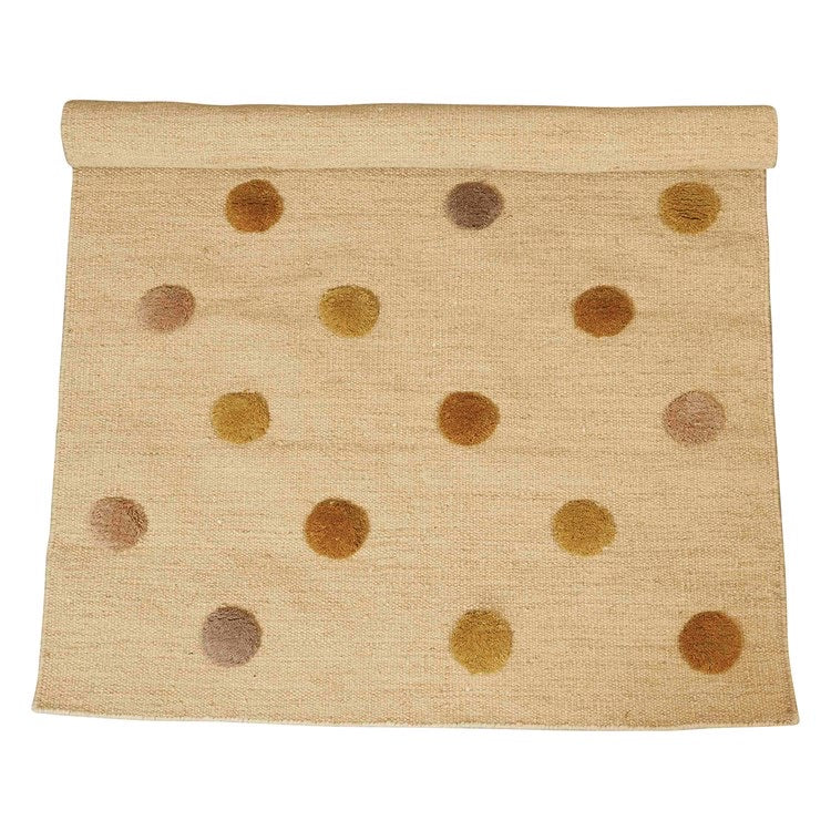 4x6 Tufted Dots Rug