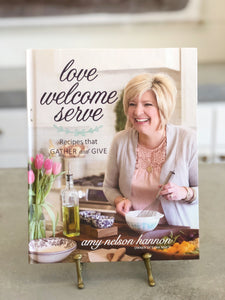 Love Welcome Serve Cookbook