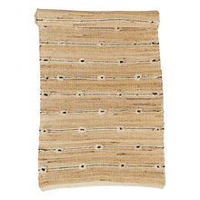 Load image into Gallery viewer, B&W Tufted Jute Runner Rug