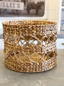 Natural Hyacinth basket