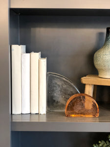 Glass Bookend