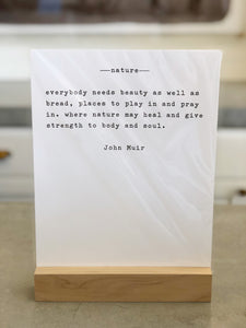 Large Quote Prints