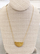 Load image into Gallery viewer, 14K Gold Fill Half Moon Necklace