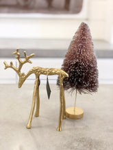 Load image into Gallery viewer, Brass Reindeer