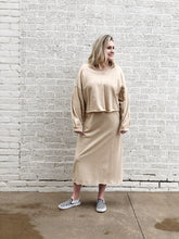 Load image into Gallery viewer, Two Piece Sweatshirt Dress