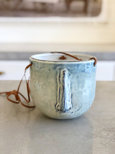 Blue Face Hanging Pot