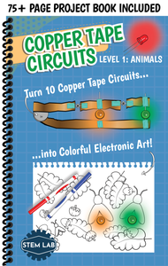 Copper Tape Paper Circuits