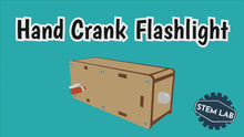 Load and play video in Gallery viewer, DIY Hand Crank Flashlight Kit