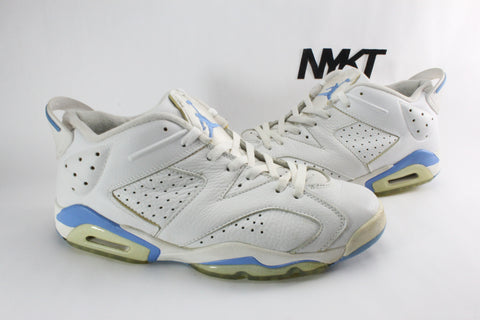 cheapest price incredible prices stable quality air jordan 6 low university blue