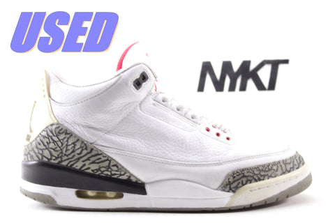 "Air Jordan 3 Retro ""White Cement"" 2010"