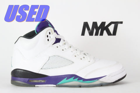 "Air Jordan 5 Retro (GS) ""Grape"" 2013"