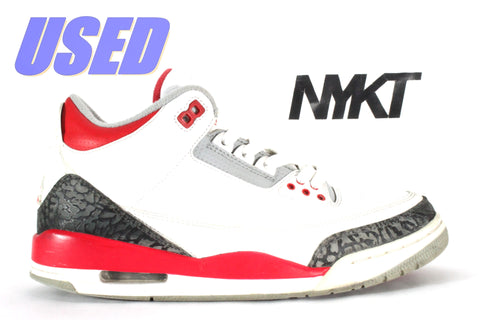 "Air Jordan 3 Retro ""Fire Red"" 2013"